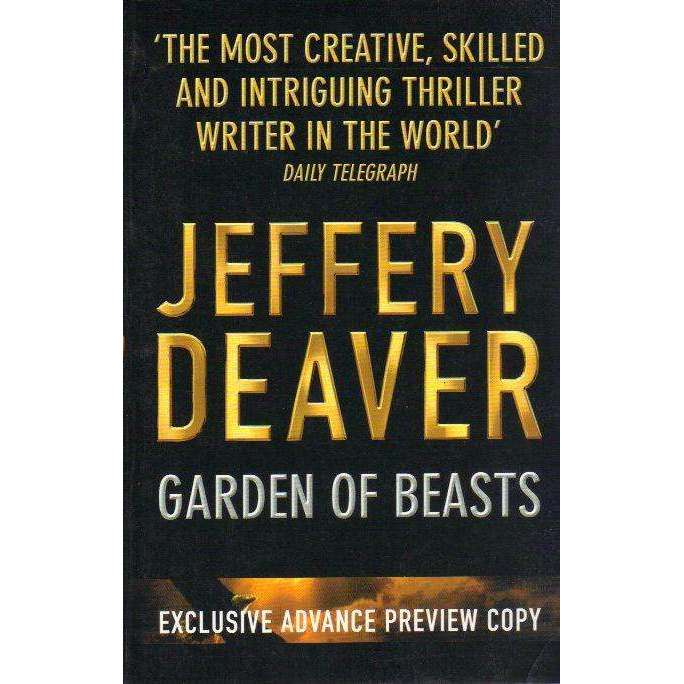 Bookdealers:Garden of Beasts (Signed by the Author) | Jeffrey Deaver