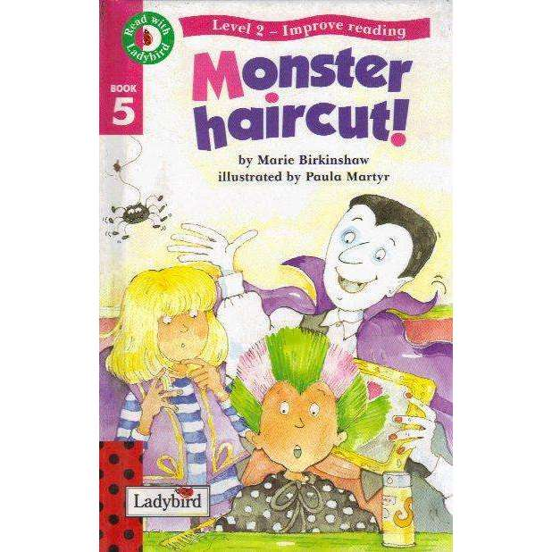 Bookdealers:Read With Ladybird 05 (Level 2) Monster Haircut | Marie Birkinshaw, Shirley Jackson and Judith Nicholls