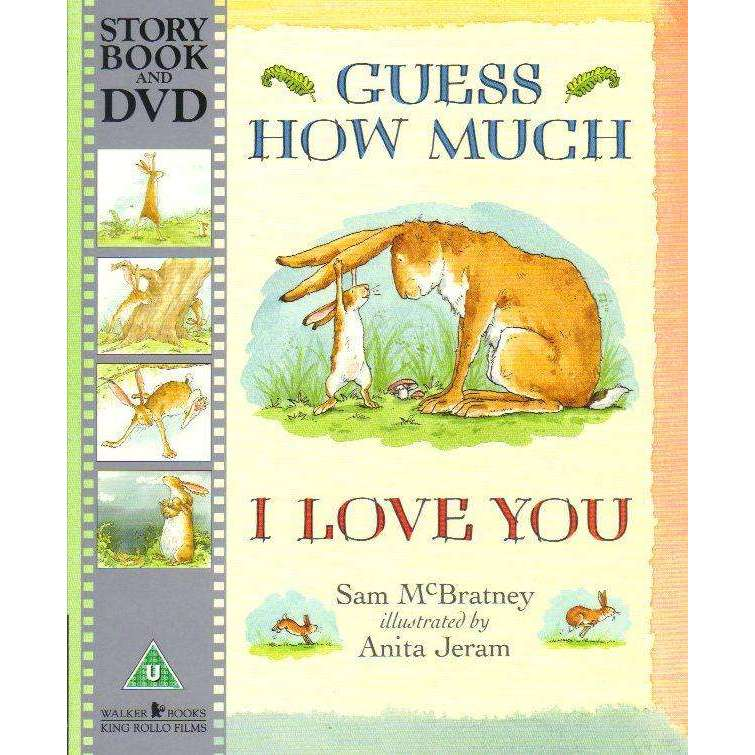 Bookdealers:Guess How Much I Love You (Story Book and DVD) | Sam McBratney