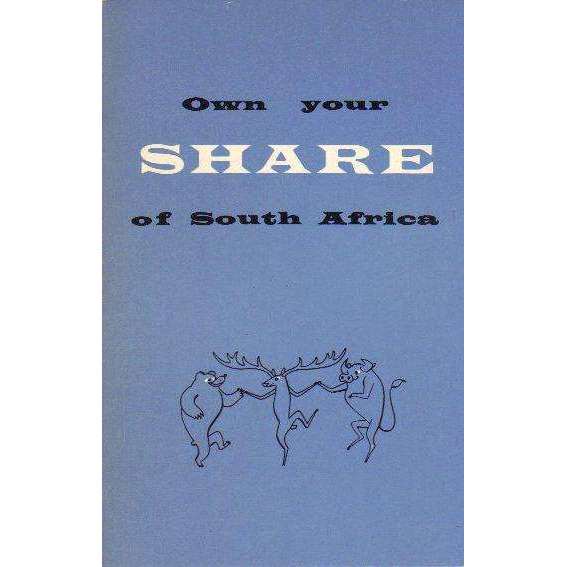 Bookdealers:Own Your Share of South Africa | JHB Stock exchange.