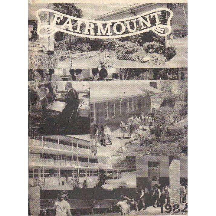 Bookdealers:Fairmount School Magazine 1982 | Forward by S. Gray