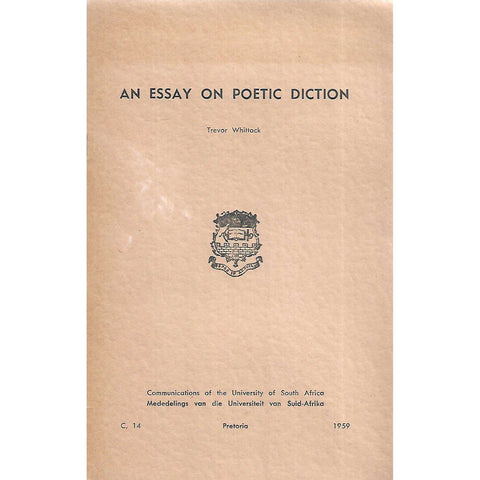 An Essay on Poetic Diction | Trevor Whittock