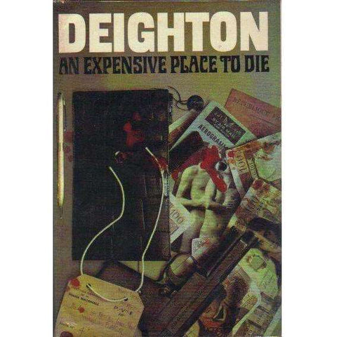 An Expensive Place to Die (First Edition 1967, with 'Top Secret' Dossier) | Len Deighton