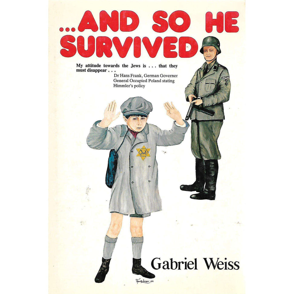Bookdealers:...And So He Survived | Gabriel Weiss
