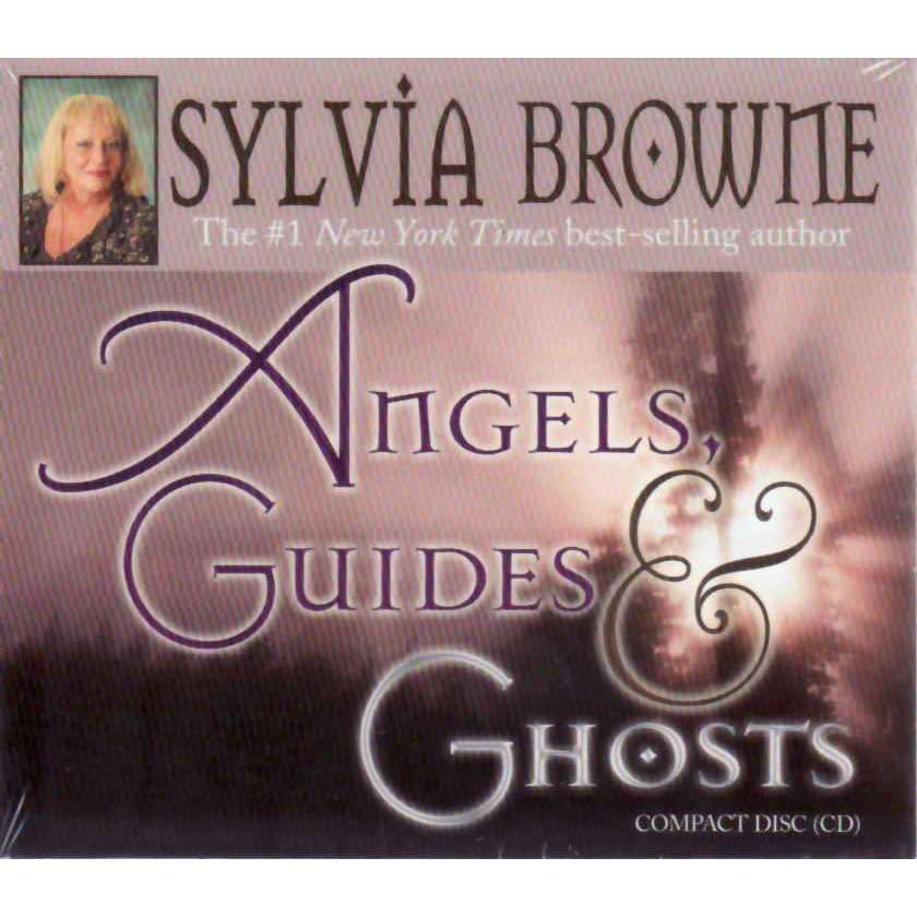 Bookdealers:Angels, Guides, and Ghosts (Audio CD) | Sylvia Browne