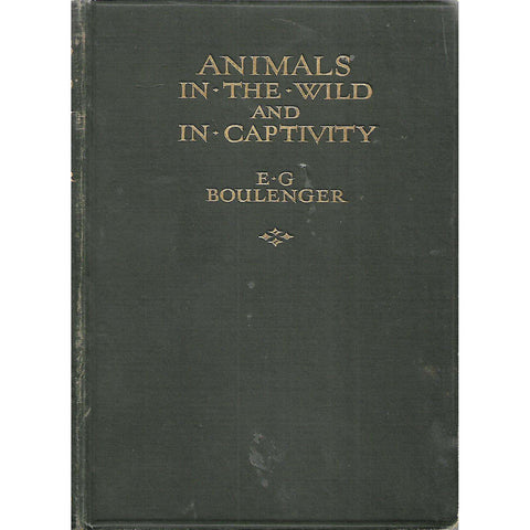 Animals in the Wild and in Captivity | E. G. Boulenger