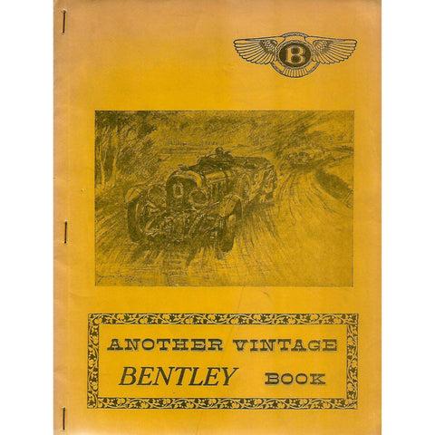 Another Vintage Bentley Book