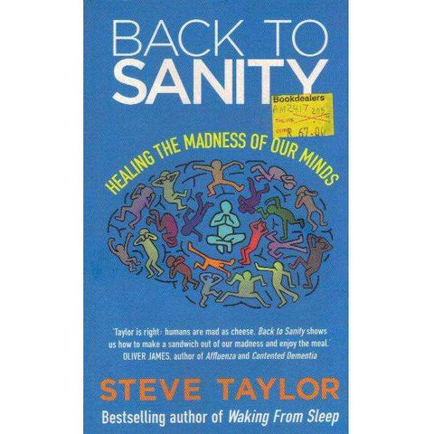 Back To Sanity: Healing the Madness of Our Minds | Steve Taylor