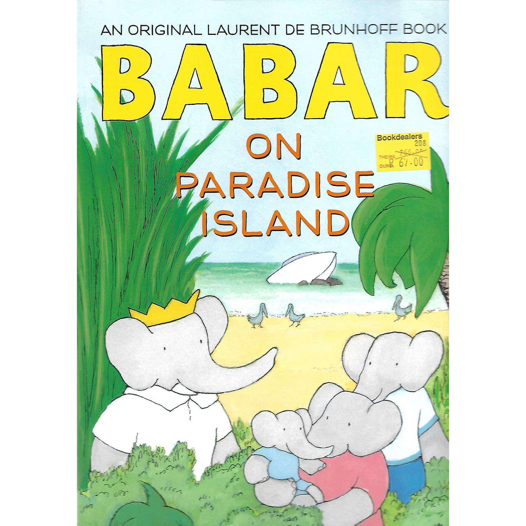 Bookdealers:Barbar on Paradise Island | Laurent de Brunhoff