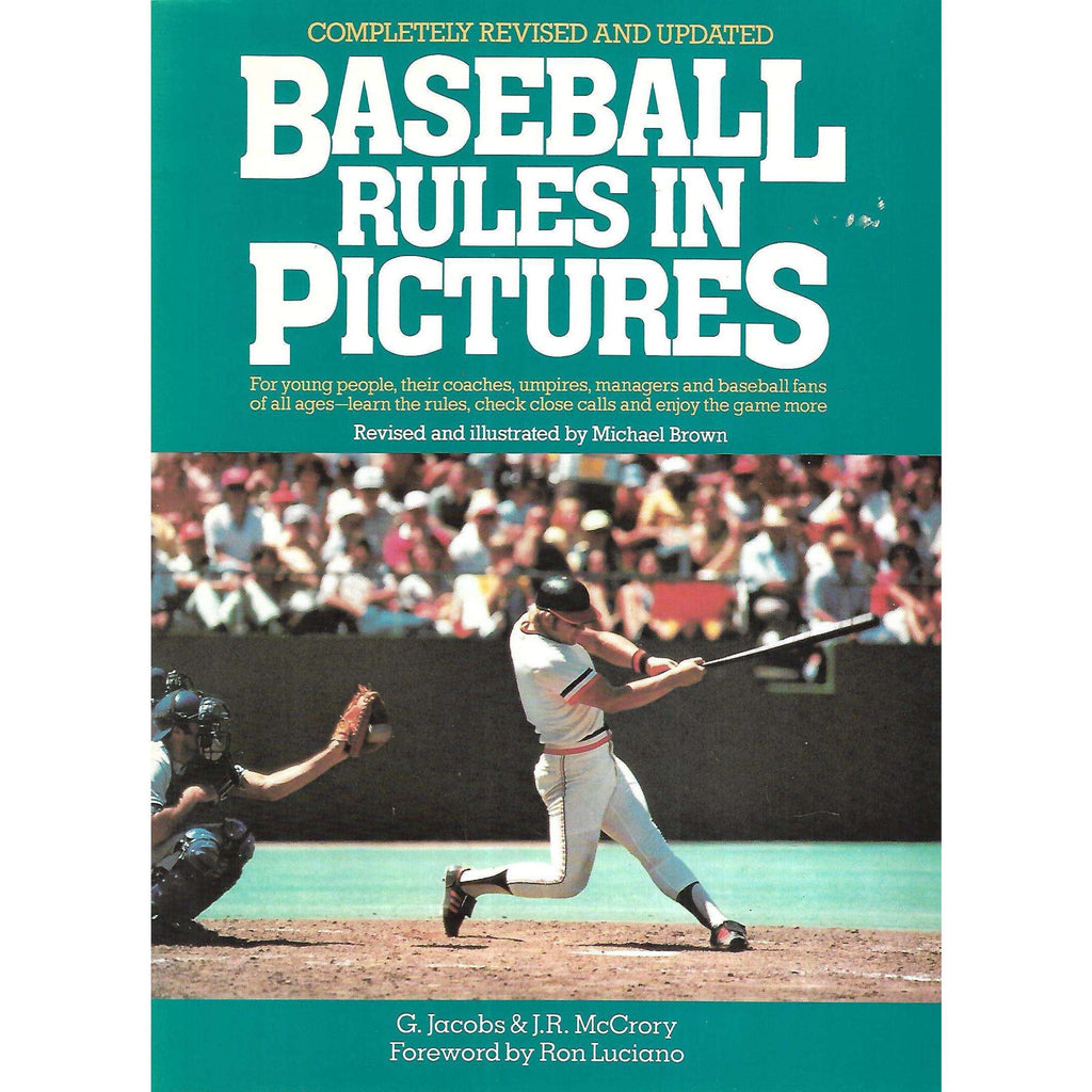Bookdealers:Baseball Rules in Pictures | G. Jacobs & J. R. McCrory