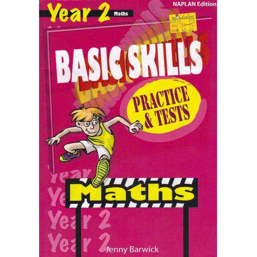 Bookdealers:Basic Skills Practics and Tests: Maths Year 2 | Jenny Barwick