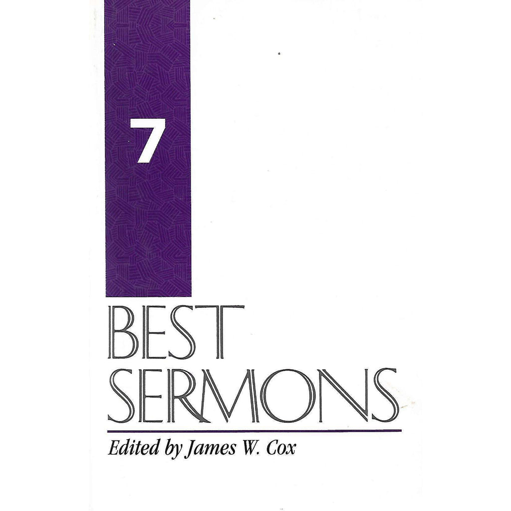 Bookdealers:Best Sermons 7 | James J. Cox (Ed.)