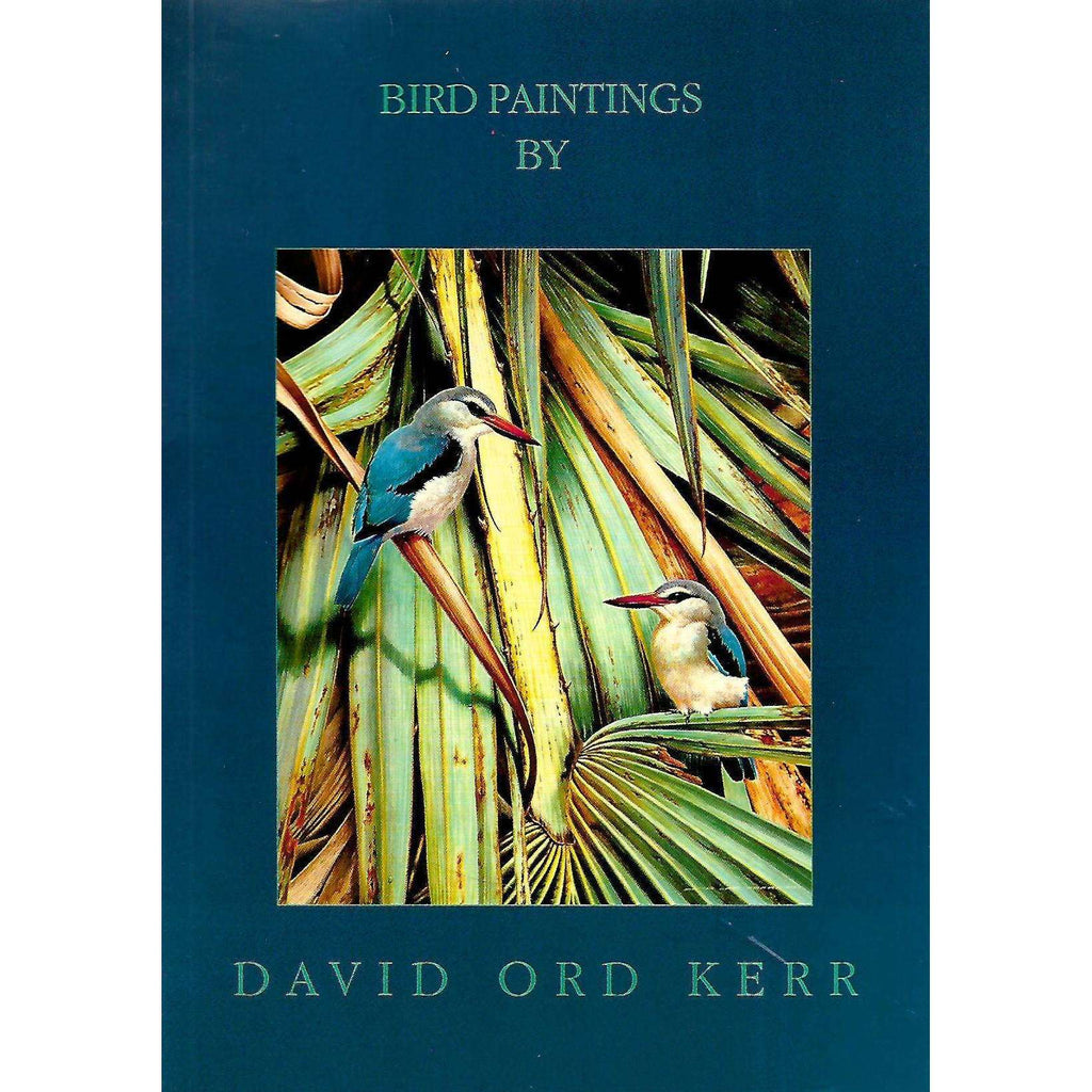 Bookdealers:Bird Paintings by David Ord Kerr (Invitation Card to the Exhibition)