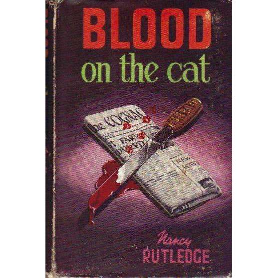 Bookdealers:Blood on the Cat (1st Edition 1946) | Nancy Rutledge