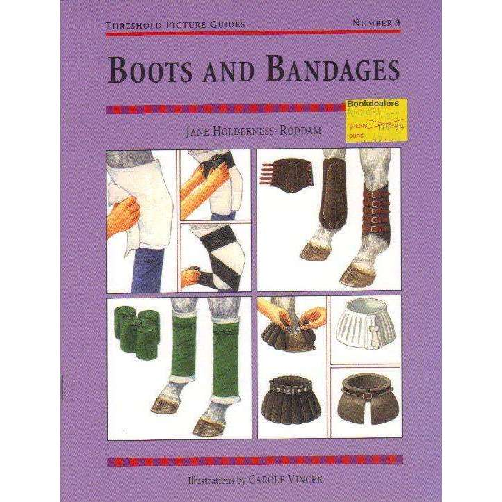 Bookdealers:Boots and Bandages: (Threshold Picture Guide No 3) | Jane Holderness-Roddam