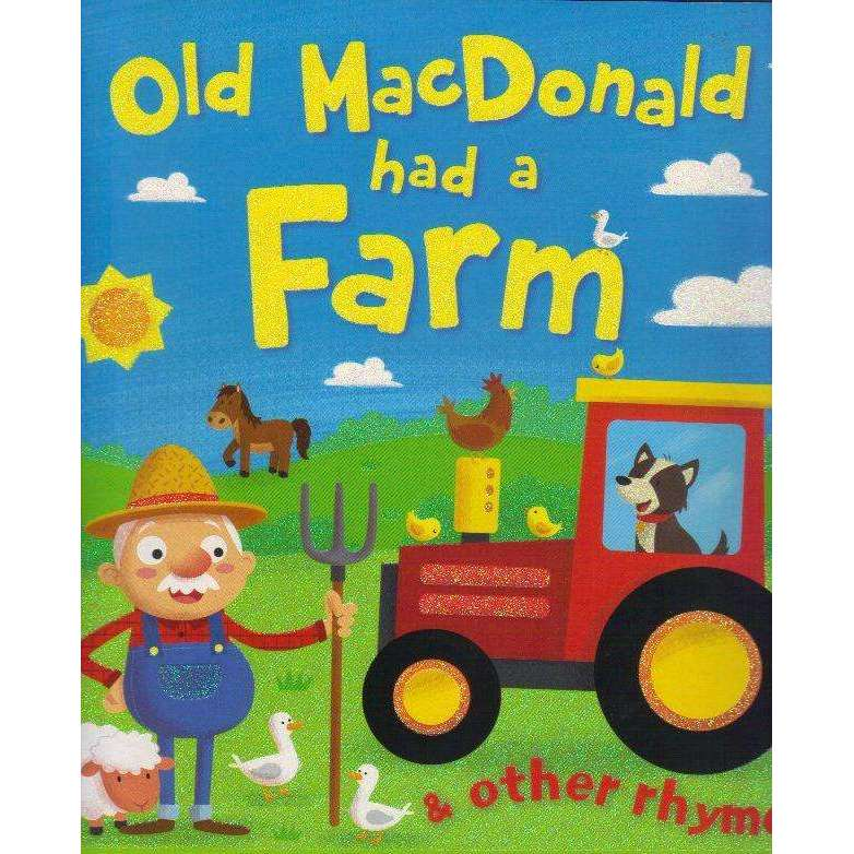 Bookdealers:Brown Watson 'Old MacDonald Had A Farm and Other Rhymes' Picture Book