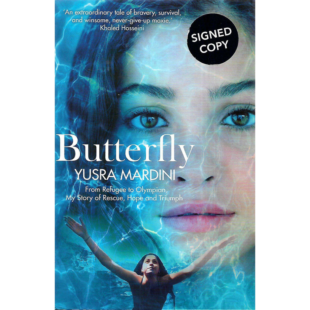 Bookdealers:Butterfly (Inscribed by Author) | Yusra Mardini