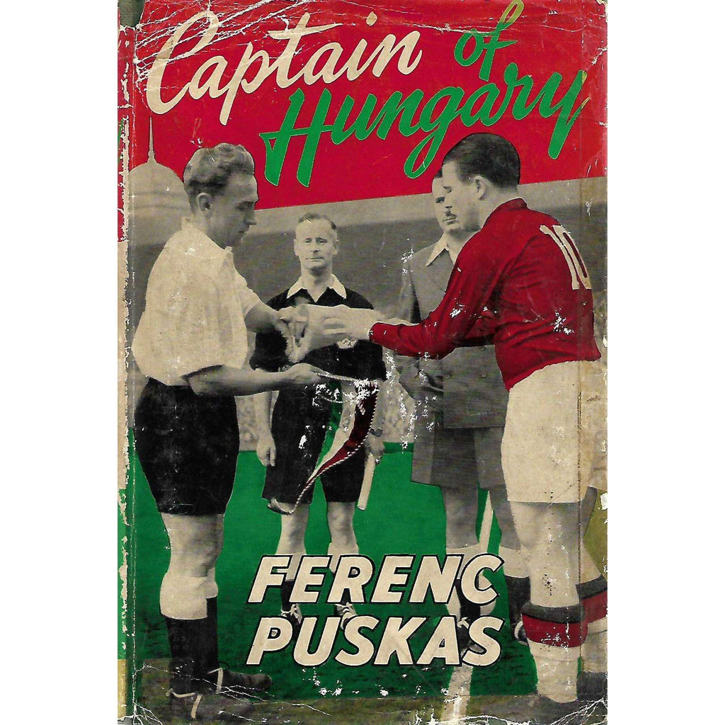 Bookdealers:Captain of Hunagry | Ferenc Puskas