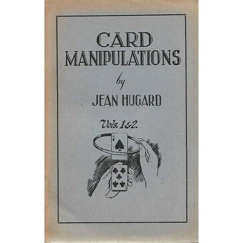 Card Manipulations (5 Volumes in 4 Books) | Jean Hugard