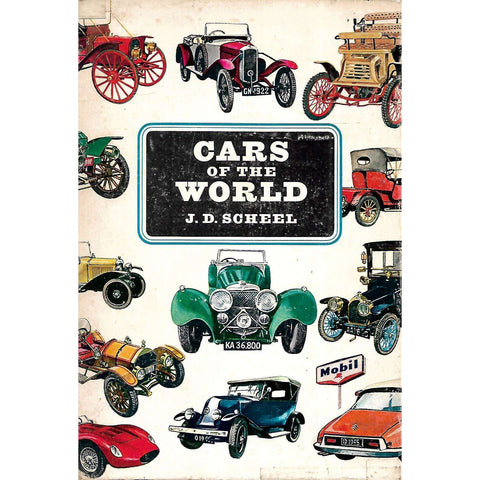 Cars of the World (4 Volumes) | J. D. Scheel