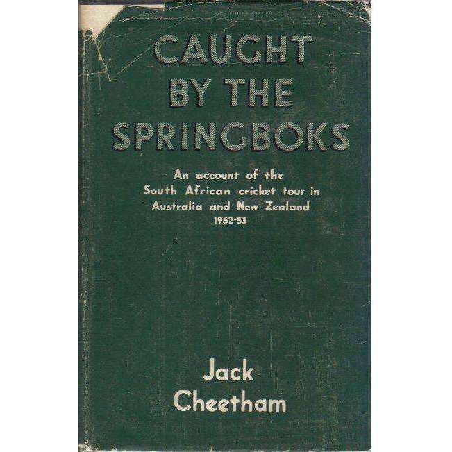 Bookdealers:Caught by the Springboks | Jack Cheetham
