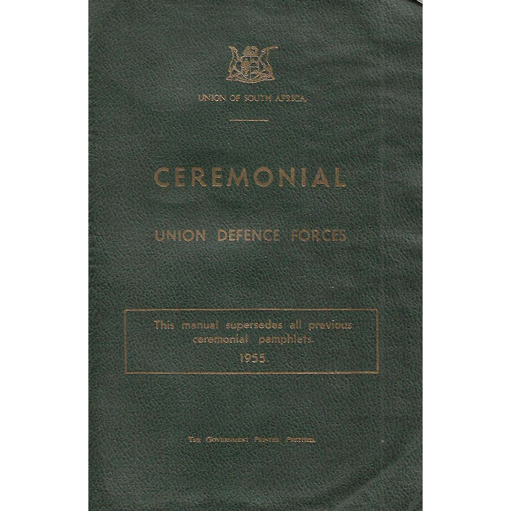 Bookdealers:Ceremonial: Union Defence Forces