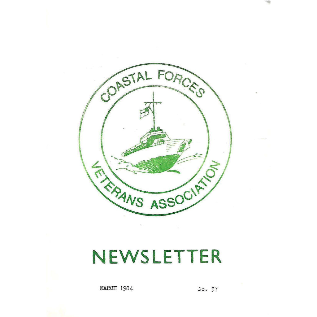 Bookdealers:Coastal Forces Veterans Association Newsletter (March 1984, No. 37)