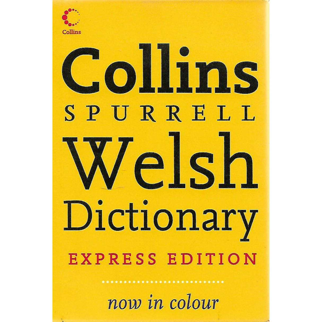 Bookdealers:Collins Spurrell Welsh Dictionary (Express Edition)