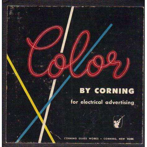 Bookdealers:Color: For Electrical Advertising | Corning