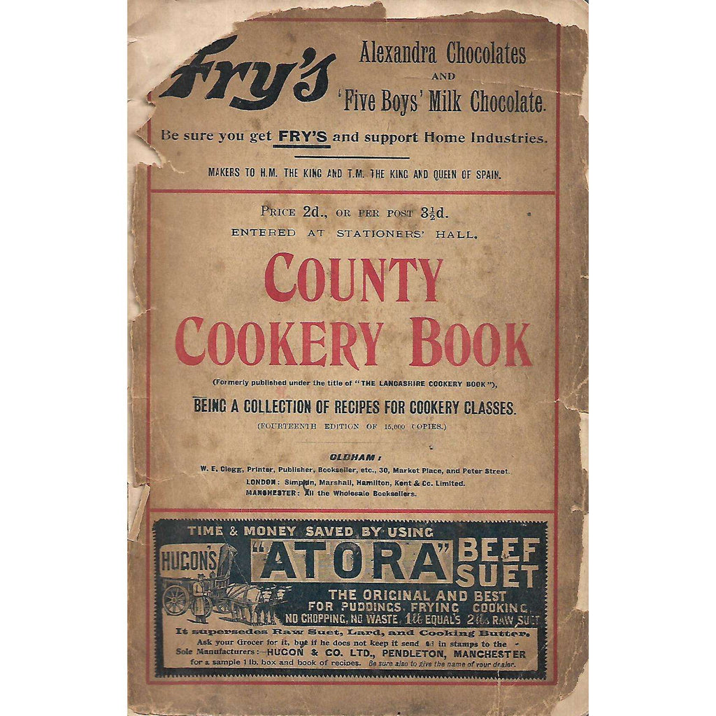 Bookdealers:County Cookery Book