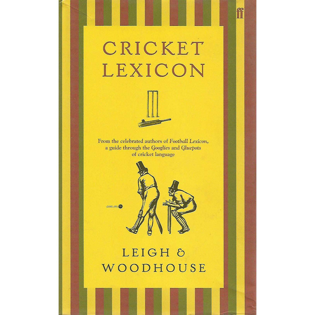 Bookdealers:Cricket Lexicon | John Leigh and David Woodhouse