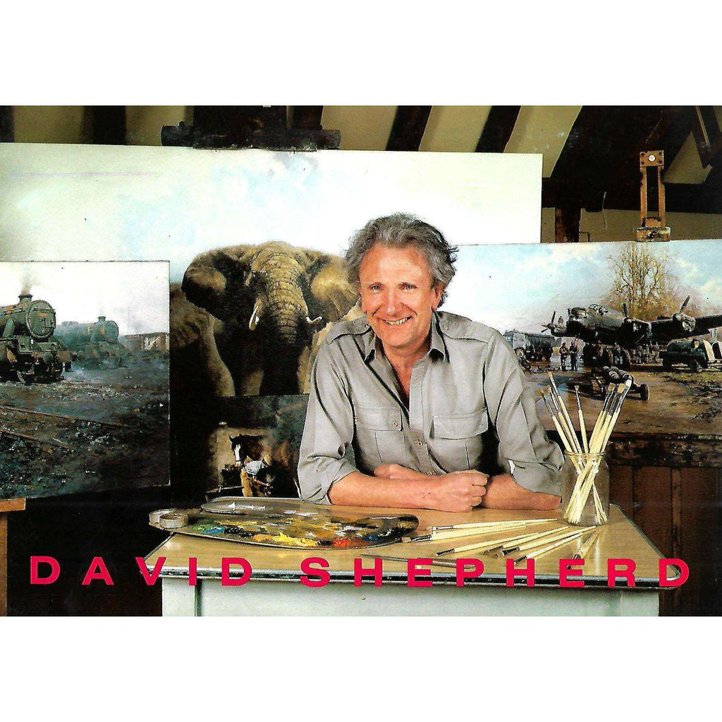 Bookdealers:David Shepherd: The Artist's Private Collection of Paintings (Invitation to the Exhibition)