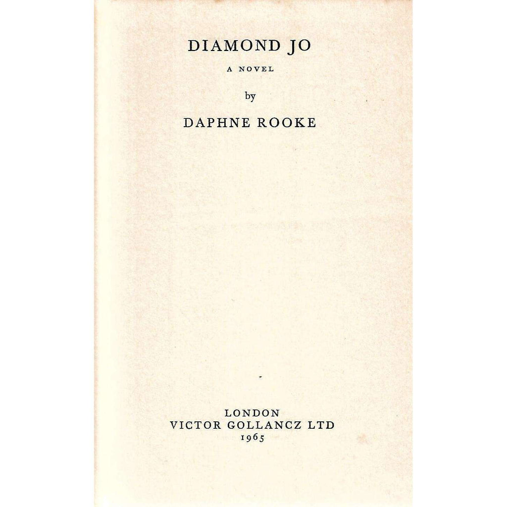 Bookdealers:Diamond Jo (First Edition) | Daphne Rooke