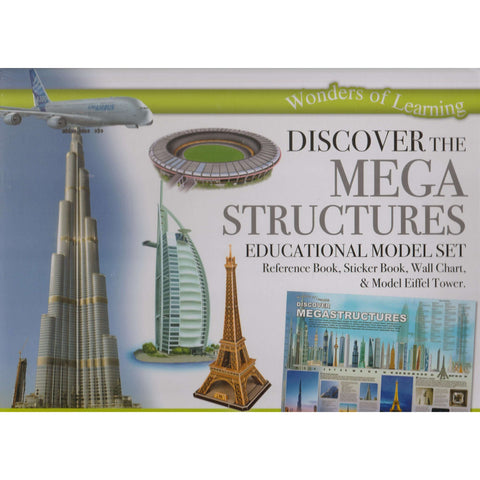 Discover Mega Structures - Educational Model Set | Wonder Of Learning