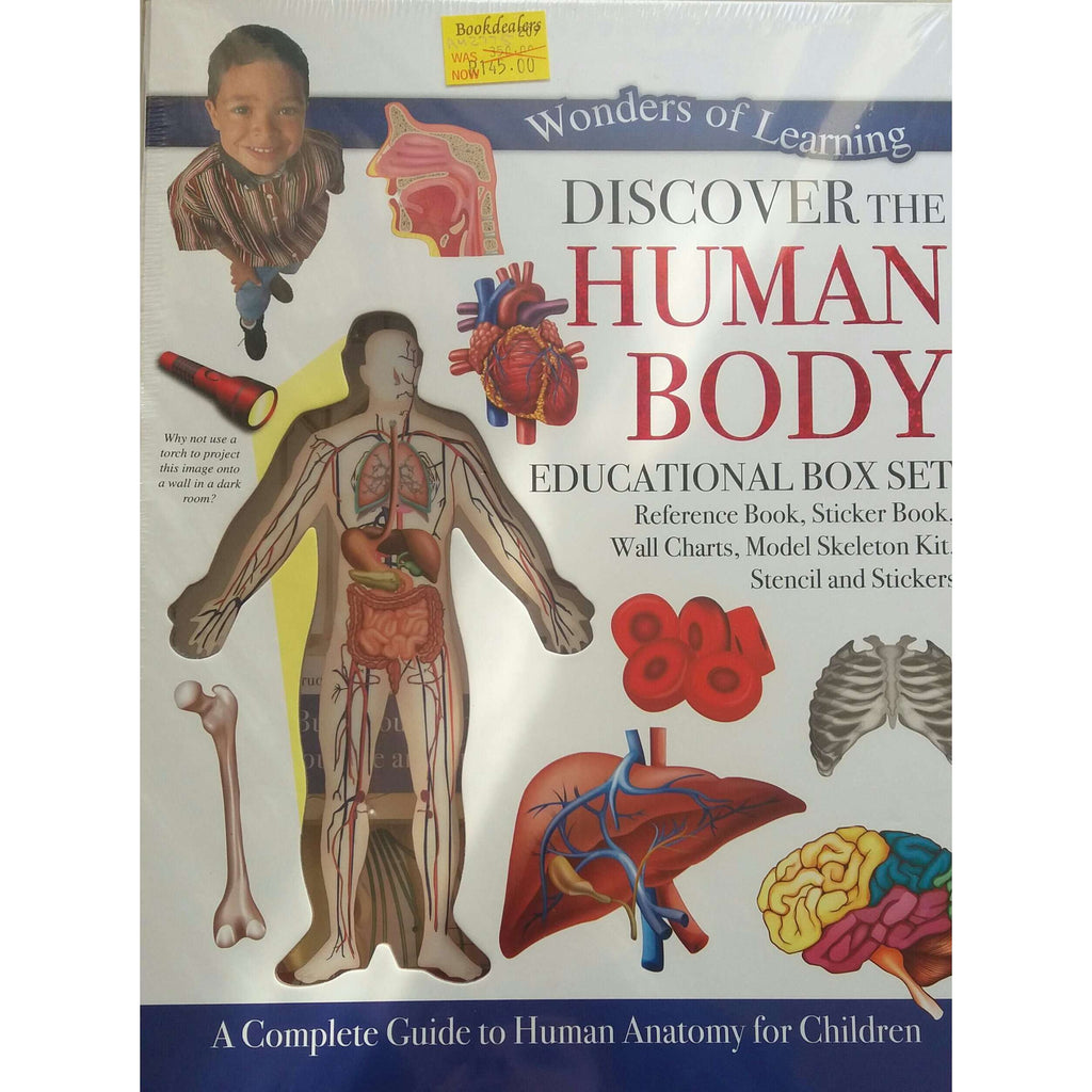 Bookdealers:Discover The Human Body - Educational Box Set