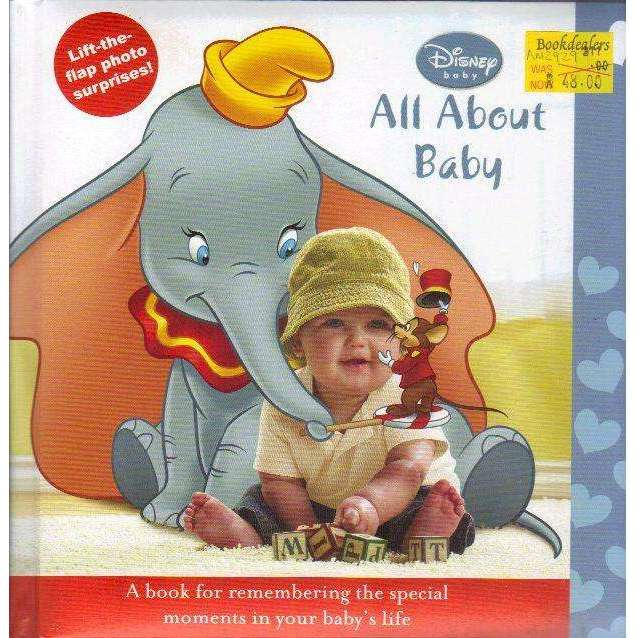 Bookdealers:Disney Baby: All About Baby (Lift the Flap Photo Surprises!)