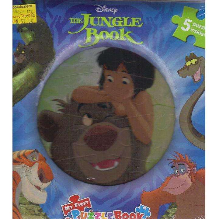 Bookdealers:Disney The Jungle Book My First Puzzle Book | Phidal Publishing Inc.