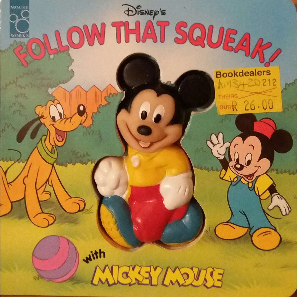 Bookdealers:Disney's Follow that squeak! with Mickey Mouse | Walt Disney Company