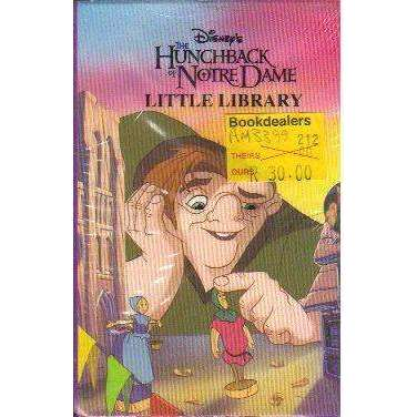 Disney's the Hunchback of Notre Dame Little Library