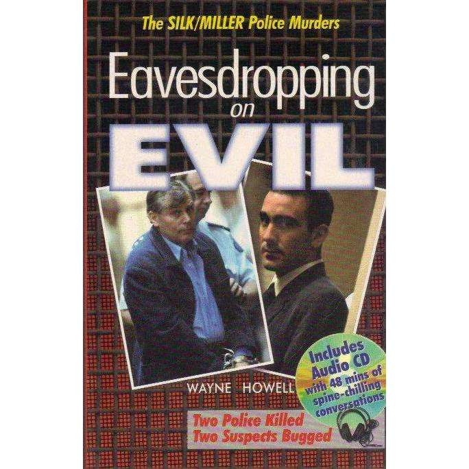 Bookdealers:Eavesdropping on Evil: Paperback + Spoken Word CD | Wayne Howell