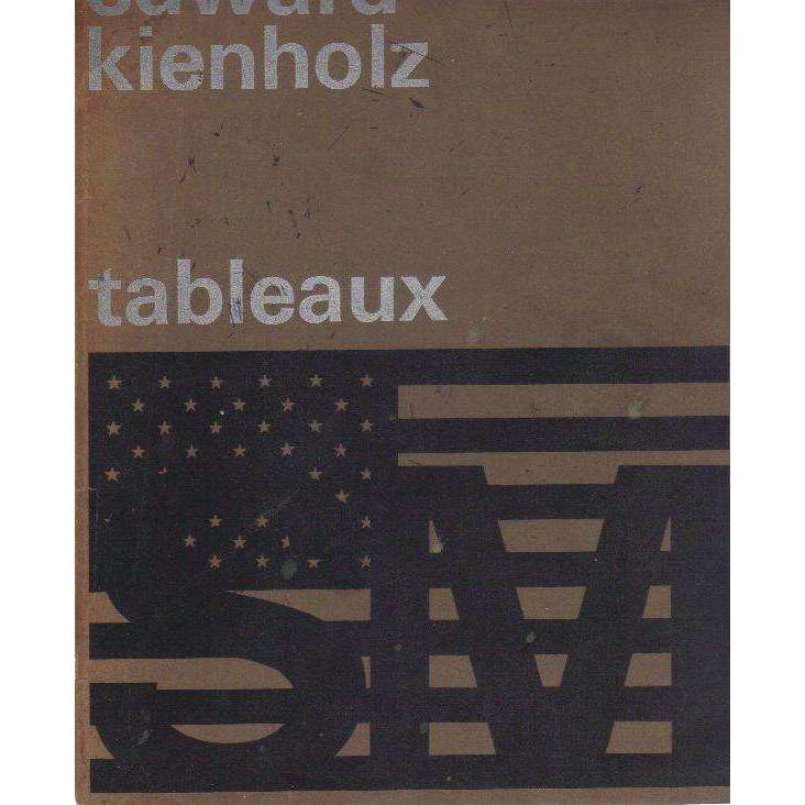 Bookdealers:Edward Kienholz: Tableaux- An Exhibition Catalogue (Dutch) | Edward Kienholz