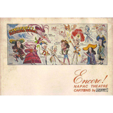 Encore!: NAPAC Theatre Cartoons (Water Stained) | Jock Leyden; Natal Performing Arts Council