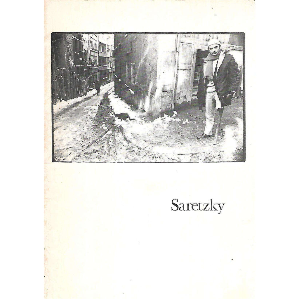 Bookdealers:Eric Saretzky: Photographic Work, 1970-1973 (Catalogue)