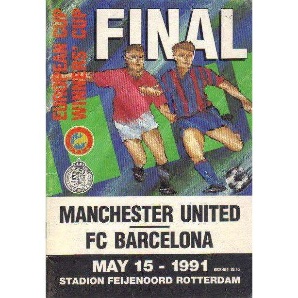 Bookdealers:European Cup Winners' Final: Manchester United, FC Barcelona | UEFA