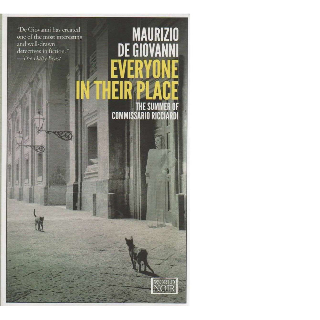 Bookdealers:Everyone in Their Place: Book 3 (The Summer of Commissario Ricciardi) | Maurizio De Giovanni