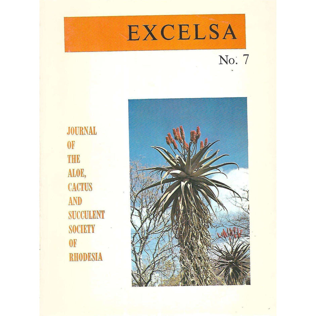 Bookdealers:Excelsa: Journal of the Aloe, Cactus and Succulent Society of Rhodesia (No. 7, December 1977)