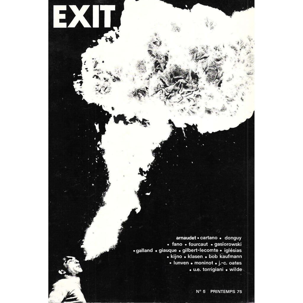 Bookdealers:Exit (No. 5, Spring 1975) (French)