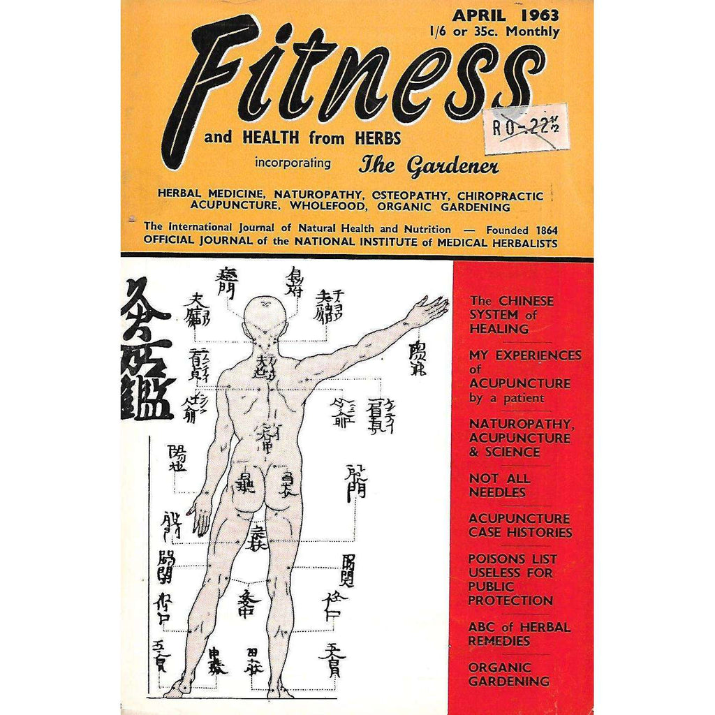 Bookdealers:Fitness and Health from Herbs (April, 1963)