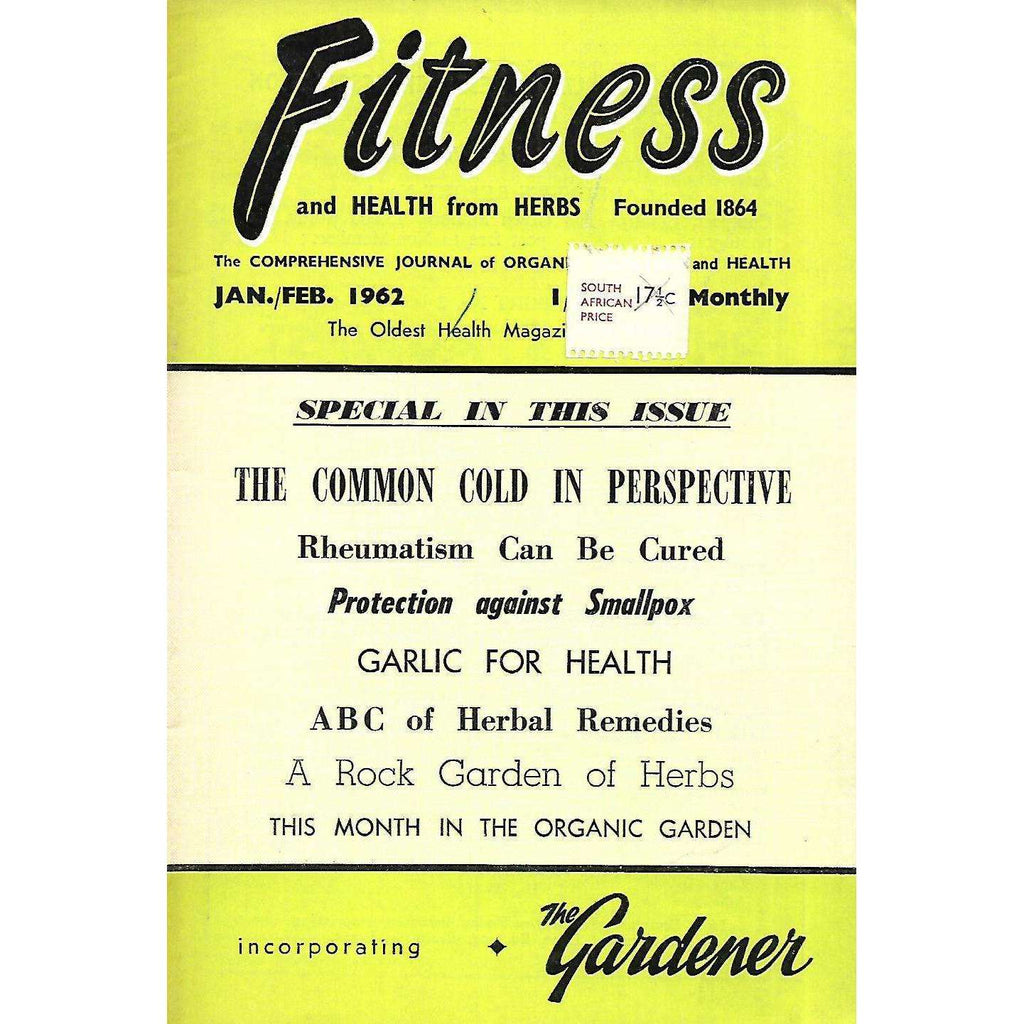 Bookdealers:Fitness and Health from Herbs (Jan/Feb. 1962)