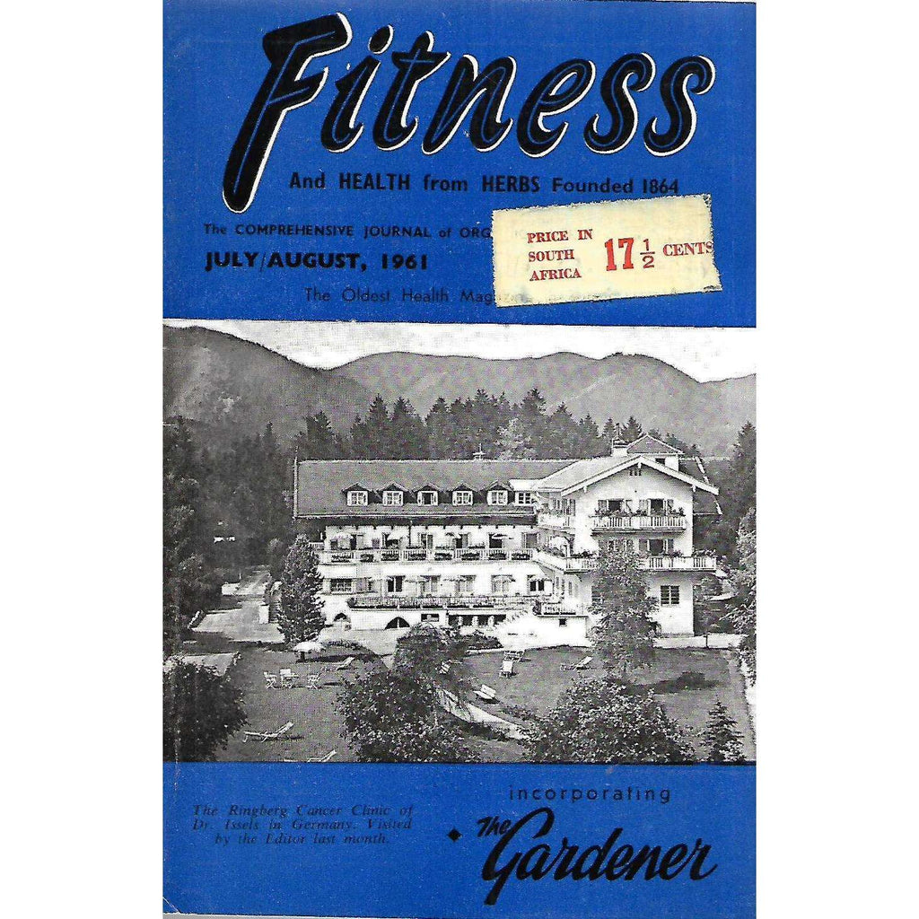Bookdealers:Fitness and Health from Herbs (July/August, 1961)